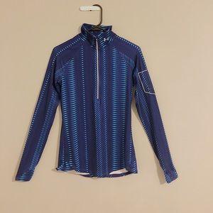 Purple/Blue Under Armour Women's Running Shirt